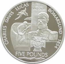 2006 Victoria Cross Charles Davis Lucas £5 Five Pound Silver Proof Coin    eBay