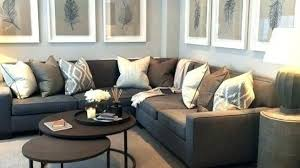images grey furniture. Plain Furniture Grey Walls Brown Couch Attractive Wall Living Room Furniture And In 14  To Images R
