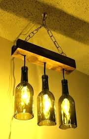 making light fixtures innovative wine bottle fixture chandelier how to make a homemade diy rustic ceiling f