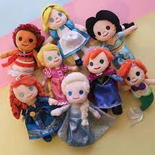 Búp Bê Nhồi Bông Hình Công Chúa Elsa Và Anna Kích Thước 14cm giá cạnh tranh