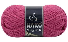 <b>Nako Spaghetti</b> / Спагетти / 25% шерсть,75% акрил <b>Пряжа</b> ...