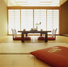 Interior:Modern Japanese Style Study Room Interior Design Ideas  Contemporary Japanese Style Dining Room With