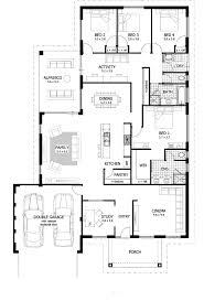 alluring house plans 4 bedroom 6 cute bedrooms 14 designs with master at rear home celebration homes wall color