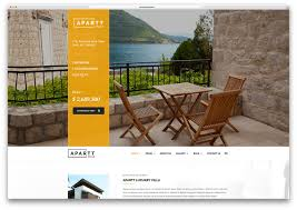 apartment website design. Apart-villa-rental-website-html-template Apartment Website Design
