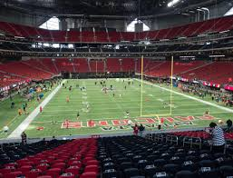 Mercedes Dome Atlanta Seating Chart Mercedes Benz Stadium Section 102 Seat Views Seatgeek