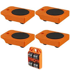 Furniture Rollers Low Profile Amazoncom 4pc Furniture Mover Rollers Appliances Roll With Ease 4quot