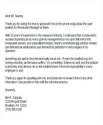 Thank You Letter For Telephone Interview Thank You Letter After Phone Interview Recruiter Rejection