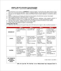 Weight Loss Charts 9 Free Pdf Psd Documents Download