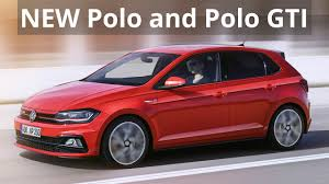 2018 volkswagen new models. fine models new 2018 volkswagen polo and gti  first look with volkswagen new models a