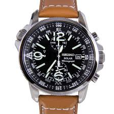 best 10 seiko watches leather straps for men the watch blog ssc081p1 gents seiko stainless steel brown leather strap watch