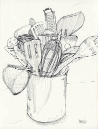 kitchen utensils drawing. Drawings Of Kitchen Utensils - Google Search Drawing W