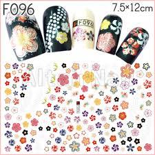 メルカリ F096ネイルシール 花 フラワー 和柄 着物 浴衣 手毬