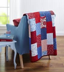 Free Fat Quarter-Friendly Quilt Patterns | AllPeopleQuilt.com & Red, White, and Blue Bricks Adamdwight.com