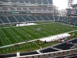 lincoln financial field section c18 philadelphia eagles rateyourseats