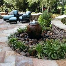 i would like to make a place this for my fountain rock garden features in gardens