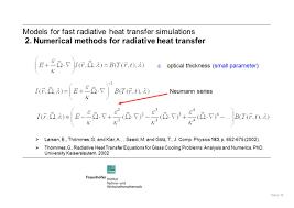 glass 16 models for fast radiative heat transfer simulations 2