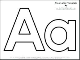 Printable Letter Templates Stencil Template Small Letter Templates Lowercase Stencils To Print