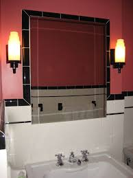 bathrooms lighting. rejuvenation lighting tile around mirror bathrooms