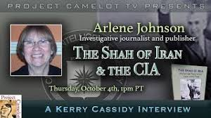 ARLENE JOHNSON: INVESTIGATIVE JOURNALIST/ PUBLISHER RE SHAH OF IRAN |  PROJECT CAMELOT PORTAL