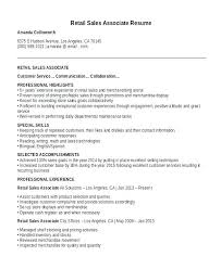 Retail Operation Manager Resume Store Sample Template Cv Free