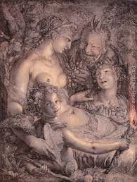 without ceres and bacchus venus would freeze painting hendrick goltzius without ceres and bacchus
