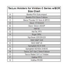 Tacloc Holster For Viridian C Series W Ecr