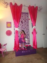 diy stage backdrop little girls stage and when she grows up replace the backdrop with a diy stage backdrop