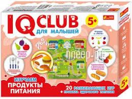 Купить <b>Ranok Creative IQ</b> Club Изучаем продукты питания ...