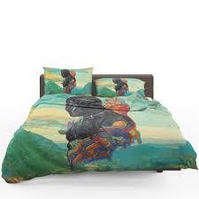 black panther t challa king of wakanda bedding set