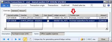 Why Purchase Order Invoice Did Not Post Any Transaction On The ...