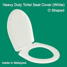 heavy duty toilet seat cover o shaped