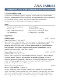Best Academic Mentor Resumes | Resumehelp