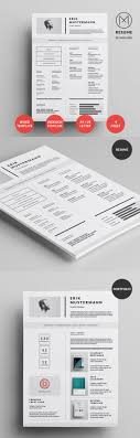 Creative Resume Design 50 Best Resume Templates For 2018 Design
