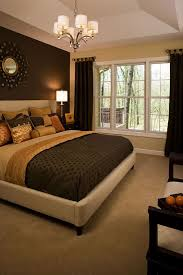 modern brown bedroom colour combination