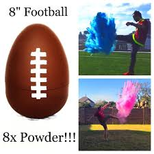 gender reveal football