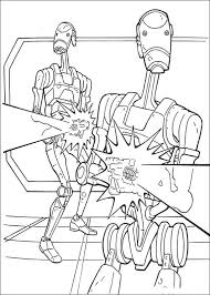 Star Wars Phantom Menace Coloring Pages Colouring