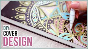 Diy Journal Cover Design Ideas Diy Sketchbook Cover Design Idea Q A