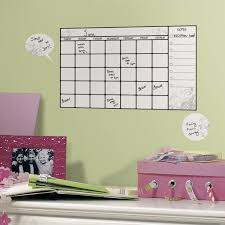 cool wall stickers home office wall. Amazon.com: ROOMMATES RMK1556SCS Dry Erase Calendar Peel \u0026 Stick Wall Decal: Home Improvement Cool Stickers Office