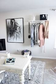 home office style. charcoalstylesketchbloggerhomeofficehangingclothing home office style i