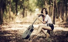 Guitar Wallpaper Hd For Girls - Rehare