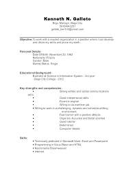 Sample Of A Job Resume Sample Job Resume This Is Resume First Job ...