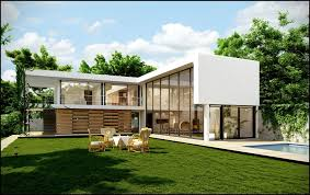 L shaped homes Single Story Youtube Shaped Houses Endless Space