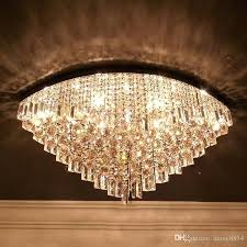 oval crystal chandelier led crystal chandelier fashion modern dining room lighting fixture exquisite