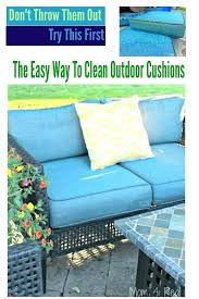 cleaning patio cushions patio furniture cushion cleaner the easy way to clean outdoor cushions cleaning tips