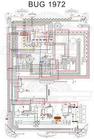 vw tech article 1972 wiring diagram vw 1500 sedan and convertible wiring key