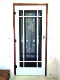 installing screen door how to install storm door closer home depot screen door closer install screen