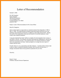 Writing A Recommendation Letter For An Employee Free Sample Recommendation Letter For Job Template Free Letter