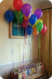 balloon decoration ideas for birthday party at home husband