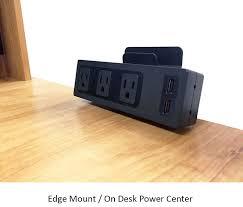 desk power outlet. Universal Desk Power Centers - AC \u0026 USB Outlet