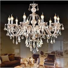 image chandelier lighting. Crystal Ceiling Lights Chandelier Cognac Color Luxury Modern 10 Living Room Bedroom Dining Image Lighting